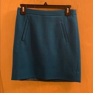 J.Crew Wool Skirt SZ 00